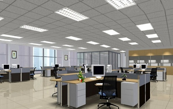 Các loại đèn led văn phòng thường dùng lắp chiếu sáng - led văn phòng